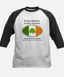 Irish Family Reunion with YOUR NAME Baseball Jerse