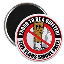 Proud-To-Be-A-Quitter-5-Year Magnet
