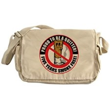 Proud-To-Be-A-Quitter-5-Year Messenger Bag