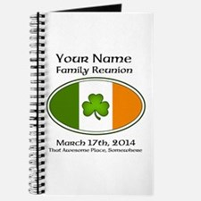 Irish Family Reunion with YOUR NAME Journal
