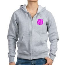 Purrfect Zipped Hoodie