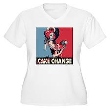 Cake change squar T-Shirt