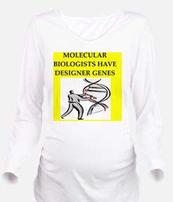 GENES Long Sleeve Maternity T-Shirt