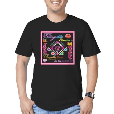 dark women 10x10 copy Men's Fitted T-Shirt (dark)