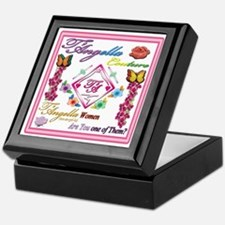 dark women 10x10 copy Keepsake Box