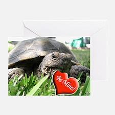 Helaine's Desert Tortoise Val Greeting Cards (Pack