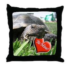 Helaine's Desert Tortoise Val Throw Pillow