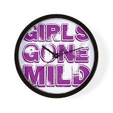 gIRLS GONE MILD Wall Clock