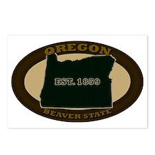 Oregon Est 1859 Postcards (Package of 8)