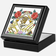 dark Tc wmn 10x10 copy Keepsake Box