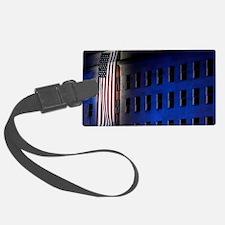Pentagon Memorial Flag Luggage Tag