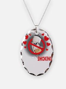 Stopped-Smoking-Partner-blk Necklace