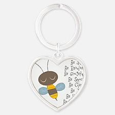 hinkleys bes1 Heart Keychain