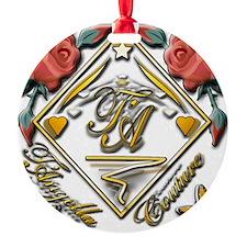 wht gold 4x4_pocket copy Ornament