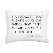 Reagan_nation-under-god- Rectangular Canvas Pillow
