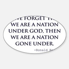 Reagan_nation-under-god-(white-shir Decal