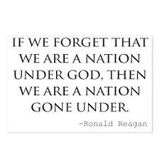 Reagan_nation-under-god-( Postcards (Package of 8)