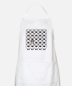Red BC and Sheep BBQ Apron
