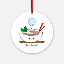 Pho Round Ornament