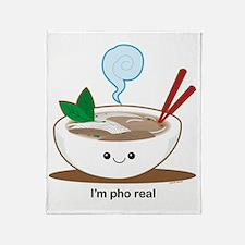 Pho Throw Blanket