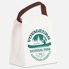 Voyageurs NP (Canoe) Canvas Lunch Bag