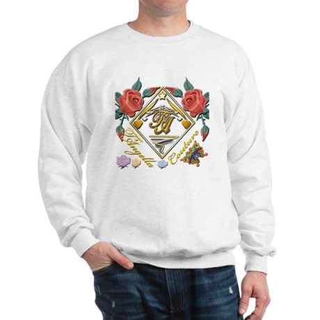 2-dark Tc pocket 6x6 copy Sweatshirt