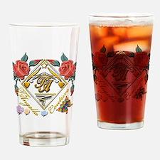 2-dark Tc pocket 6x6 copy Drinking Glass