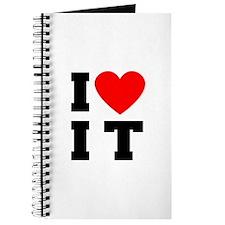 I Luv It Heart Journal