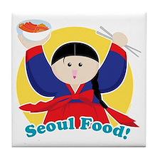 Seoulfood Tile Coaster