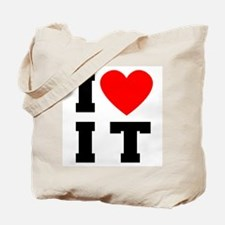 I Luv It Heart Tote Bag