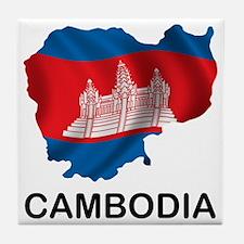 Cambodia2 Tile Coaster