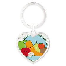 Farmersmarket Heart Keychain