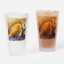 MollyFeedingYoung_LrgPstr_35x23 Drinking Glass