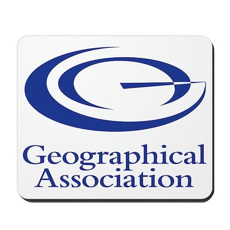 GeographicalAssociationLogo Mousepad
