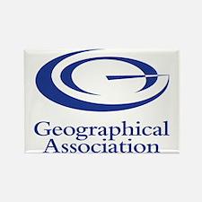 GeographicalAssociationLogo Rectangle Magnet
