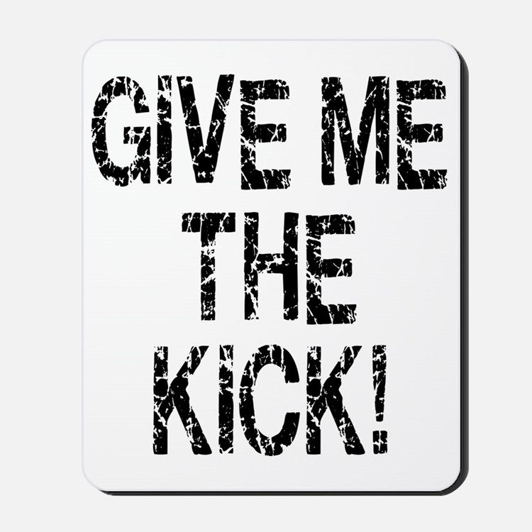 inception_kick_me Mousepad