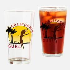 CaliforniaGurlzDark Drinking Glass