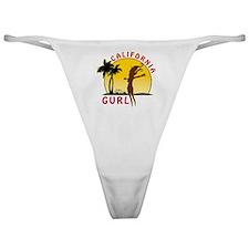 CaliforniaGurlzDark Classic Thong