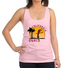 CaliforniaGurlzDark Racerback Tank Top