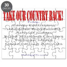 Take our country back, from Puzzle