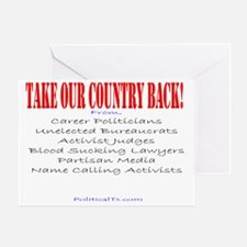 Take our country back, from Greeting Card
