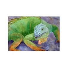iguana-upsize Rectangle Magnet