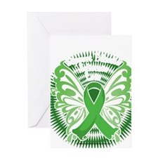 Muscular-Dystrophy-Butterfly-3-blk Greeting Card