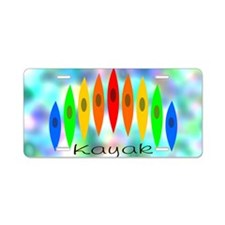 Tintedrainbow Aluminum License Plate