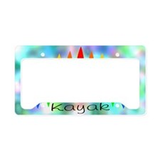 Tintedrainbow License Plate Holder