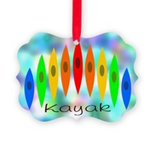 Tintedrainbow Picture Ornament