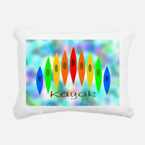 Tintedrainbow Rectangular Canvas Pillow