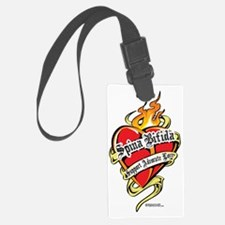 Spina-Bifida-Tattoo-Heart Luggage Tag
