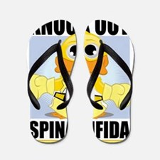 Knock-Out-Spina-Bifida Flip Flops