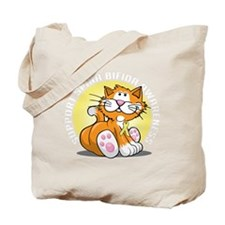 Spina-Bifida-Cat-blk Tote Bag